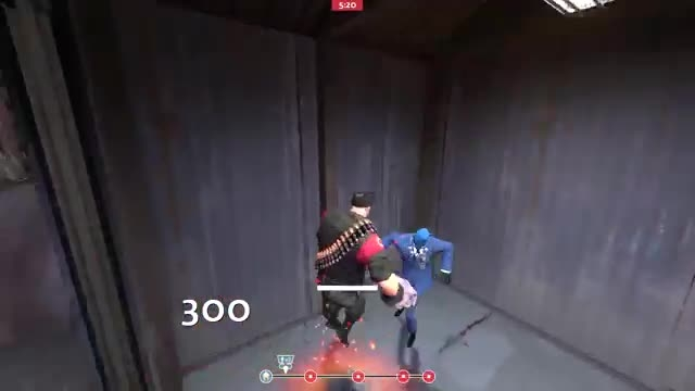 .TF2: How to get into enemy spawn on pl_frontier