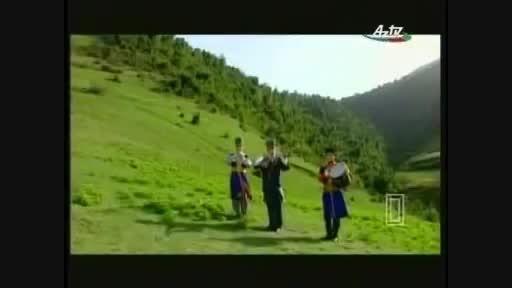 عاشیق اهلیمان فولکلور آذربایجانی مینوازد Ashig Ahliman