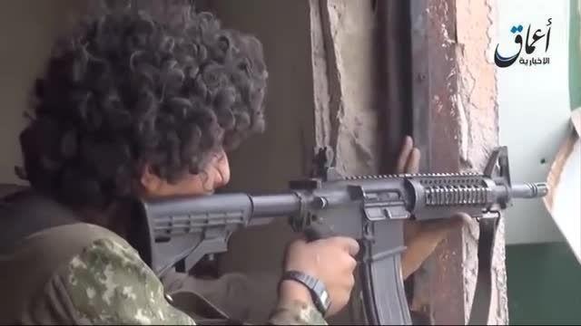 دستگیری تک تیرانداز سعودی داعش در بیجی