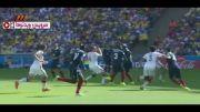 خلاصه بازی فرانسه ۰-۱ آلمان