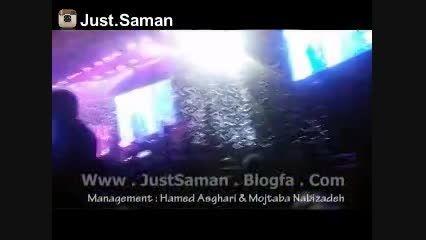 کنسرت سامان جلیلی در تهران ، آهنگ حالم بده(جاست سامان)