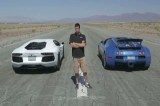 Bugatti Veyron vs Lamborghini Aventador vs Lexus LFA vs McLaren MP4-12C