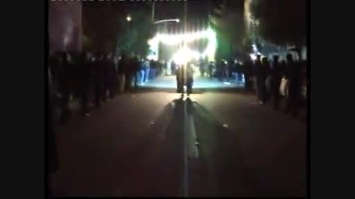 هیئت شهدای کربلا-شب 6محرم1394بامداحی کربلائی حمید شکوری