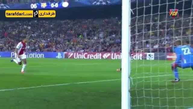 مسیر قهرمانی بارسلونا در لیگ قهرمانان اروپا در 1 دقیقه