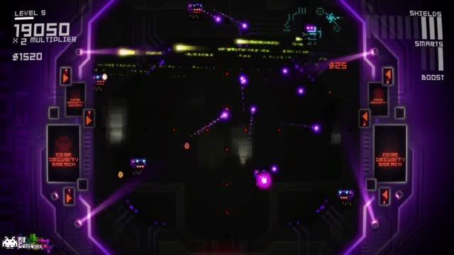 بخش دوم گیم پلی بازی آرکید Ultratron از سایت آل گیم