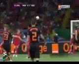 گلهای بازی هلند و پرتغال یورو 2012