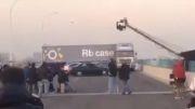 حادثه وحشتناک سر صحنه فیلم برداری