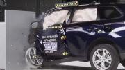 Mitsubishi Outlander small overlap IIHS crash test