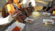 اردوی جهادی نوروز 92 سراوان  صبحانه    قسمت    اول