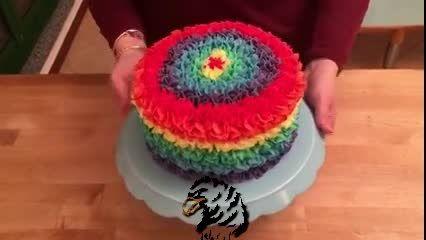 ساخت کیک تولد