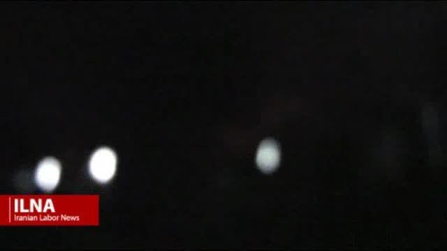 فیلم حمله موشکی به پایگاه منافقین در عراق