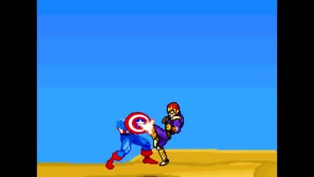 Captain falcon vs captain America