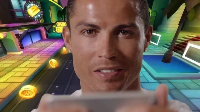 تیزر جدید جالب بازی کریستیانو رونالدو و هوگو