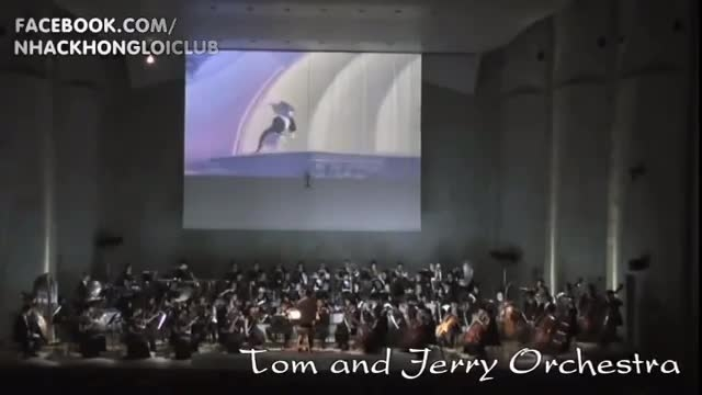 Tom and Jerry Orchestra (lồng tiếng) - LIVE