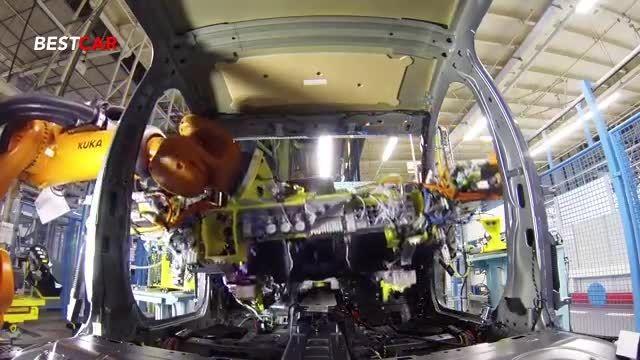 ساخت خودروی مرسدس بنز کلاس C تولید 2015