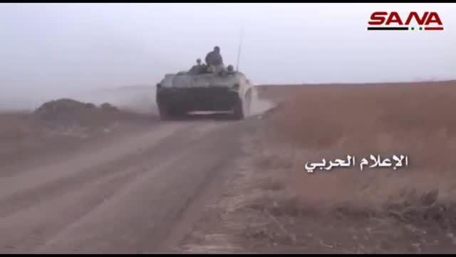 عملیات ارتش سوریه در حومه جنوب غربی حلب