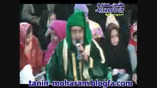 تعزیه حضرت علی اکبر محمد طوطی و محمد رضایی 91 شینقر