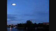 بشقاب پرنده عجیب در آسمان انگلیس
