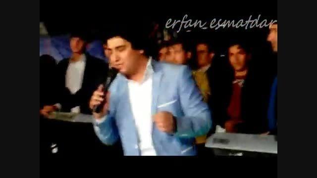 اجرای آهنگ جدید اصغر باکردار به نام اسمر در عروسی رستمی