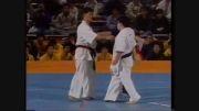 مسابقه سنگینی از کنجی یاماکی قهرمان کیوکوشین کاراته