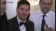 باز هم توپ طلای 2012 به بارسلونا آمد - (لیونل مسی)