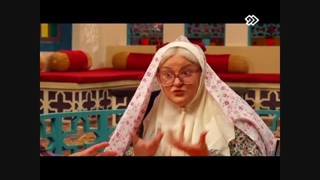 نعیمه نظام دوست در محله گل و بلبل عمو پورنگ / قسمت هفتم