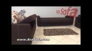 ست کامل مبلمان تختخواب شو مدل 88  - سایت AraSofa.com