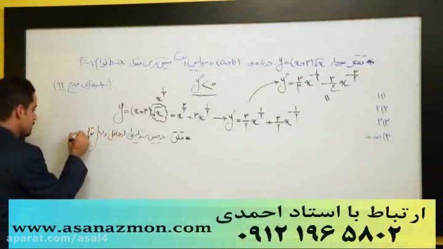 جدیدترین تدریس مهندس مسعودی کنکور (مشتق3) کنکوری 22
