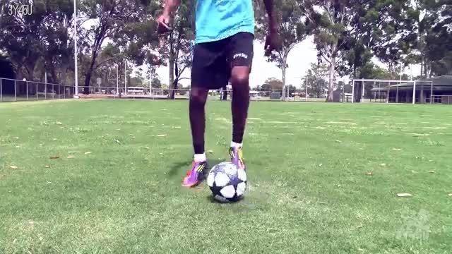 آموزش فوتبال - کنترل توپ،دریبل،ترفندهای فوتبال