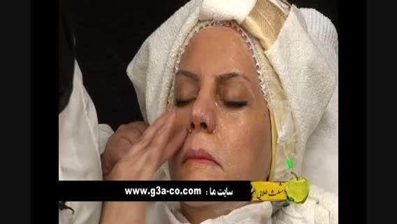 آموزش آرایش و جوان سازی پوست 1 قسمت 2 ( مثلث طلایی )