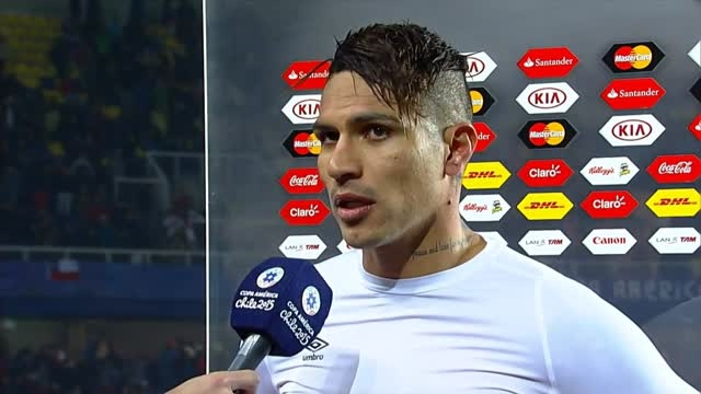 مصاحبه پائولو پس از بازی مقابل پاراگوئه(کوپا آمریکا)