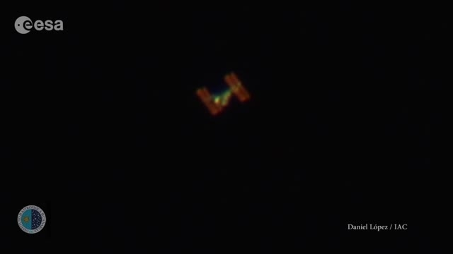 ایستگاه فضایی بین اللملی از زمین