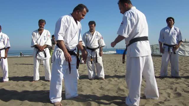 کمپ تابستانی کیوکوشین کاراته تزوکا ایران 94 حاجی آبادی