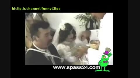 قیافه عروس رو باش آخر خنده
