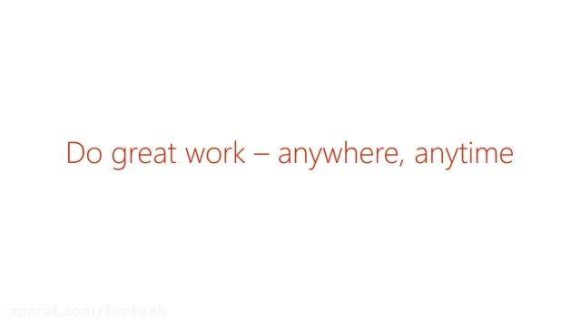 مجموعه آفیس مایکروسافت (ورد،اکسل،پاورپوینت) برای گوشی