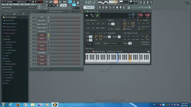 آهنگ دل ما یه یاری داره (سعید شایسته) با FL Studio12
