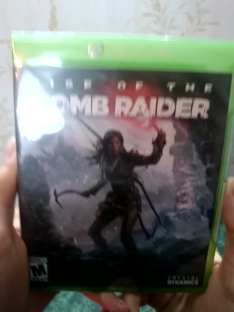 Rise Of The Tomb Raider Xbox One Unboxing