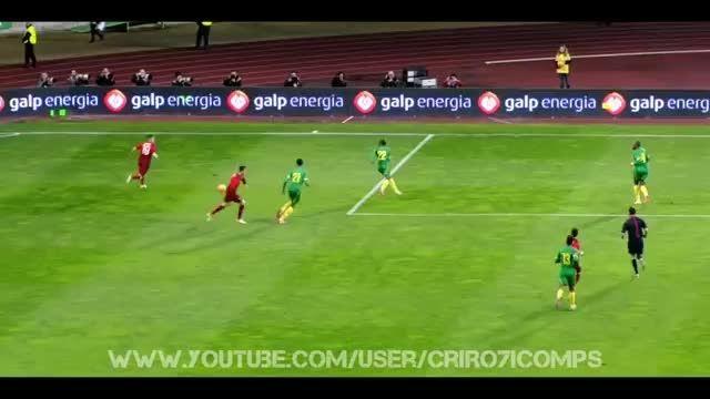 هایلایت کامل بازی کریستیانو رونالدو مقابل کامرون (2013)