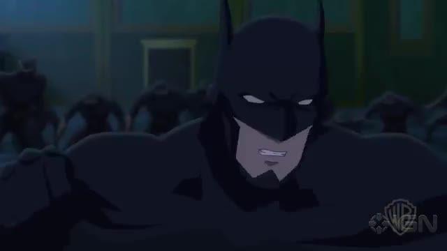 batman vs. robin - batman and nightwing attacked