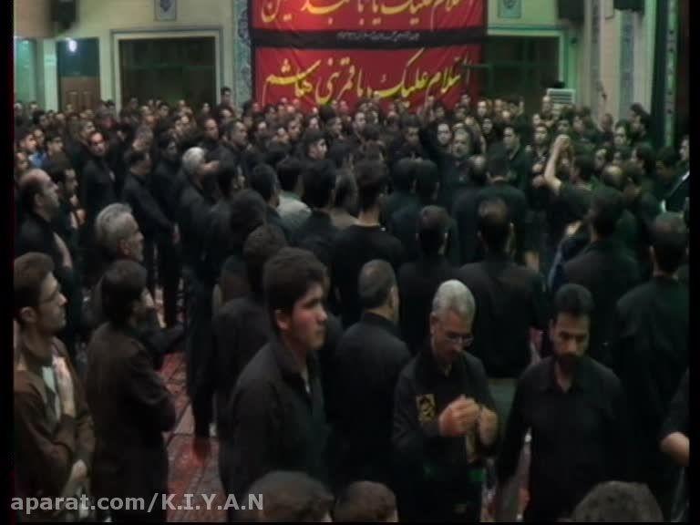 نوحه کربلایی حسین رسولی شام غریبان محرم 94 احمدیه زنجان