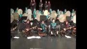 حسین شکری .ماکت کنسرت ازادی