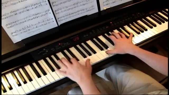 کاور پیانو زیبا از ترک Remembrances فیلم فهرست شیندلر