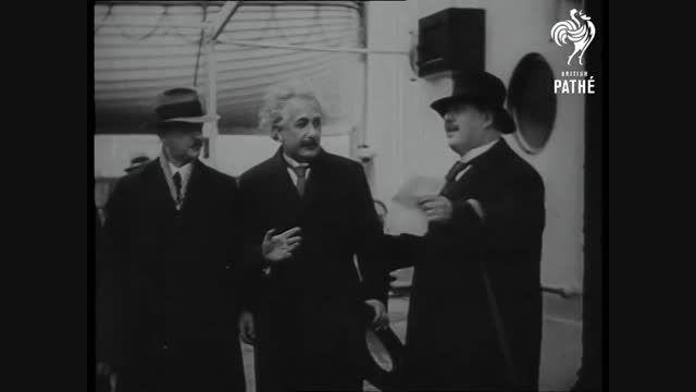 انشتین و یهودیان از آلمان اخراج می شوند