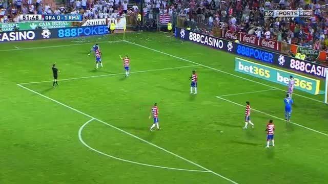 هایلایت بازی کامل کریستیانو رونالدو مقابل گرانادا(2013)
