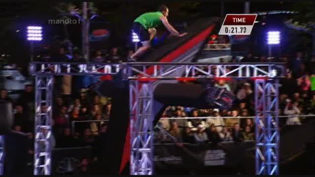 مسابقه American Ninja Warrior با دوبله فارسی - قسمت سوم