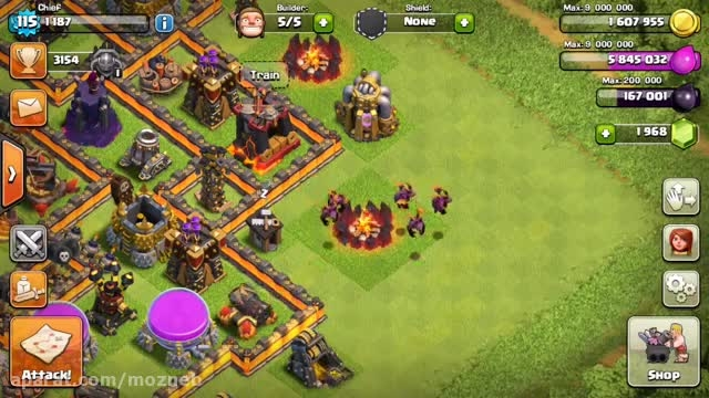 ''clash of clans new level ''minions-7