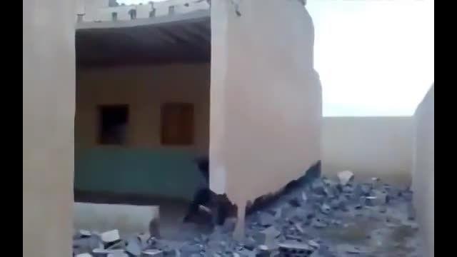 خراب کردن 1 سانتی متر دیوار = مرگ
