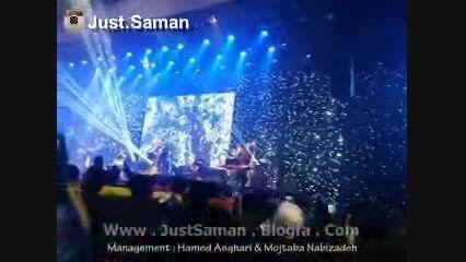 کنسرت سامان جلیلی در تهران ، آهنگ خیال (جاست سامان)