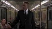 مردان سیاه پوش در مترو