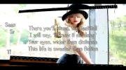 Taylor Swift- Sweeter Than Fiction Lyrics